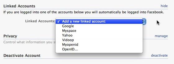 OpenID-Facebook