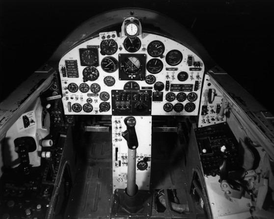 Cockpit du X-15