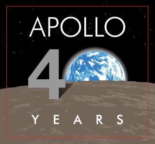 Apollo 11 -logo des 40 ans