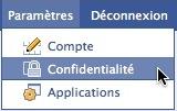 Facebook - confidentialité