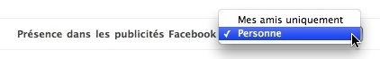 Publicités Facebook