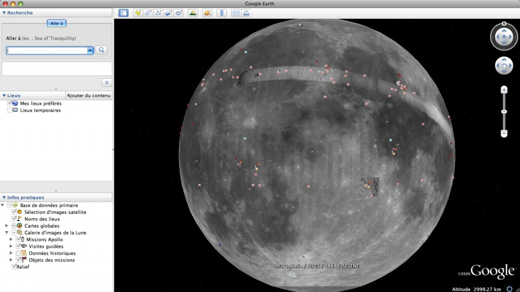 Google Earth 5.0 - Lune