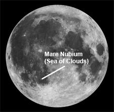 Mare Nubium - Credit: NASA