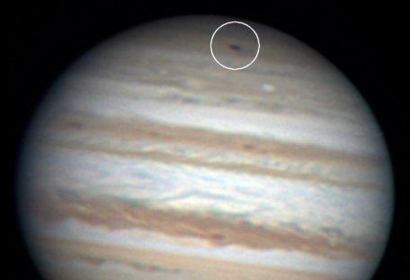 Impact sur Jupiter - Anthony Wesley