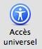 Mac OS X - Accès universel - logo