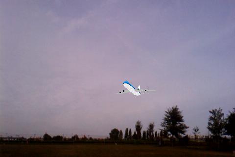 Layar 3D - Boeing