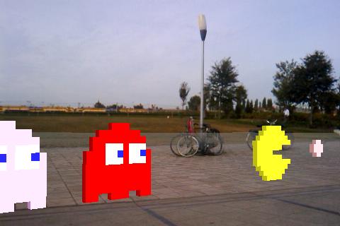 Layar 3D - Pacman
