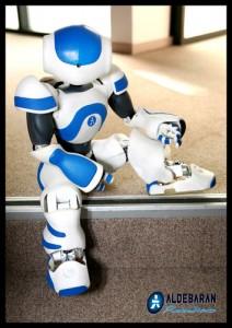 Nao, le petit robot humanoïde