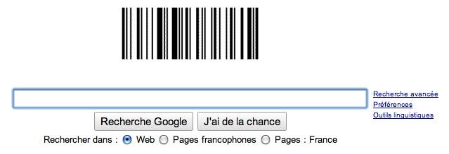 Google - code barre