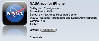 NASA - iPhone