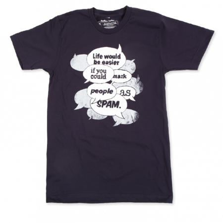 T-Shirt-mark-people-as-spam