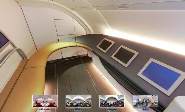 Airbus A380 - salon