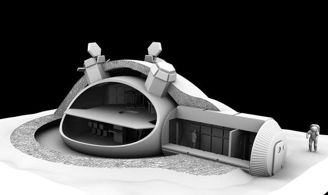 Construire une Base Lunaire grâce à l'impression 3D