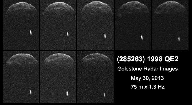 Asteroide-1998QE2-lune