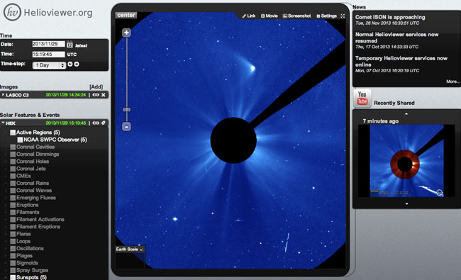 Helioviewer-ISON