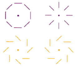 Polarisation-motifs