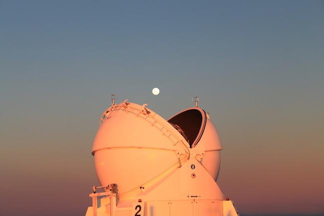 Telescope en mode Pacman