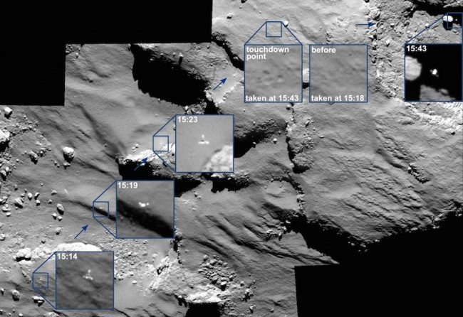 Philae_67P_survol