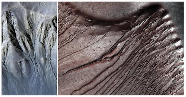 Mars-Ravines